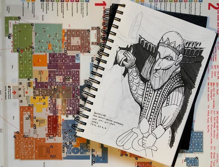 Metropolitan sketchbook a year in drawings the metropolitan alt publicscrutiny Image collections