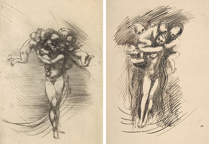 Easy D Line Drawings : Not rodin: misattributed drawings in the met collection