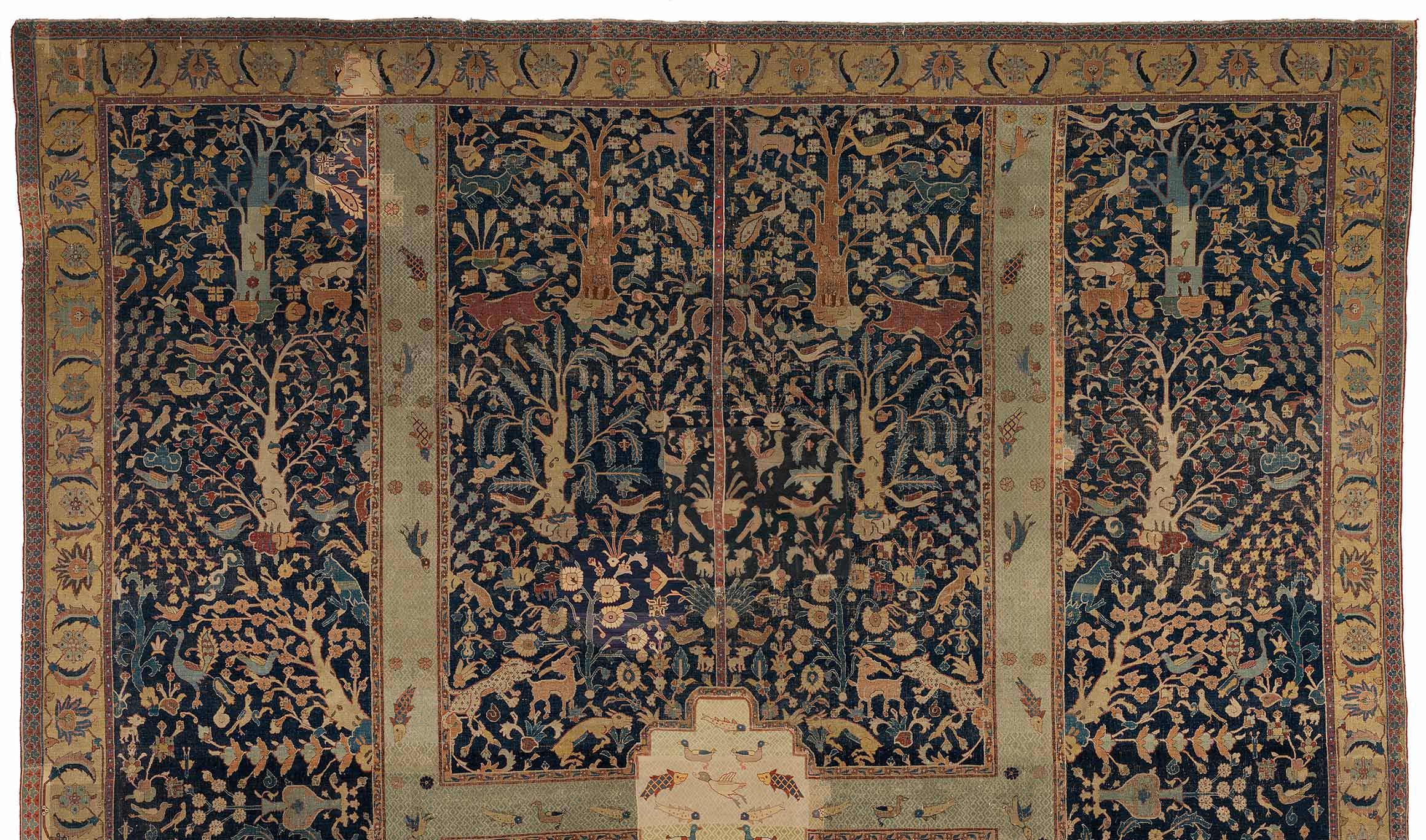 Eternal Springtime A Persian Garden Carpet From The Burrell