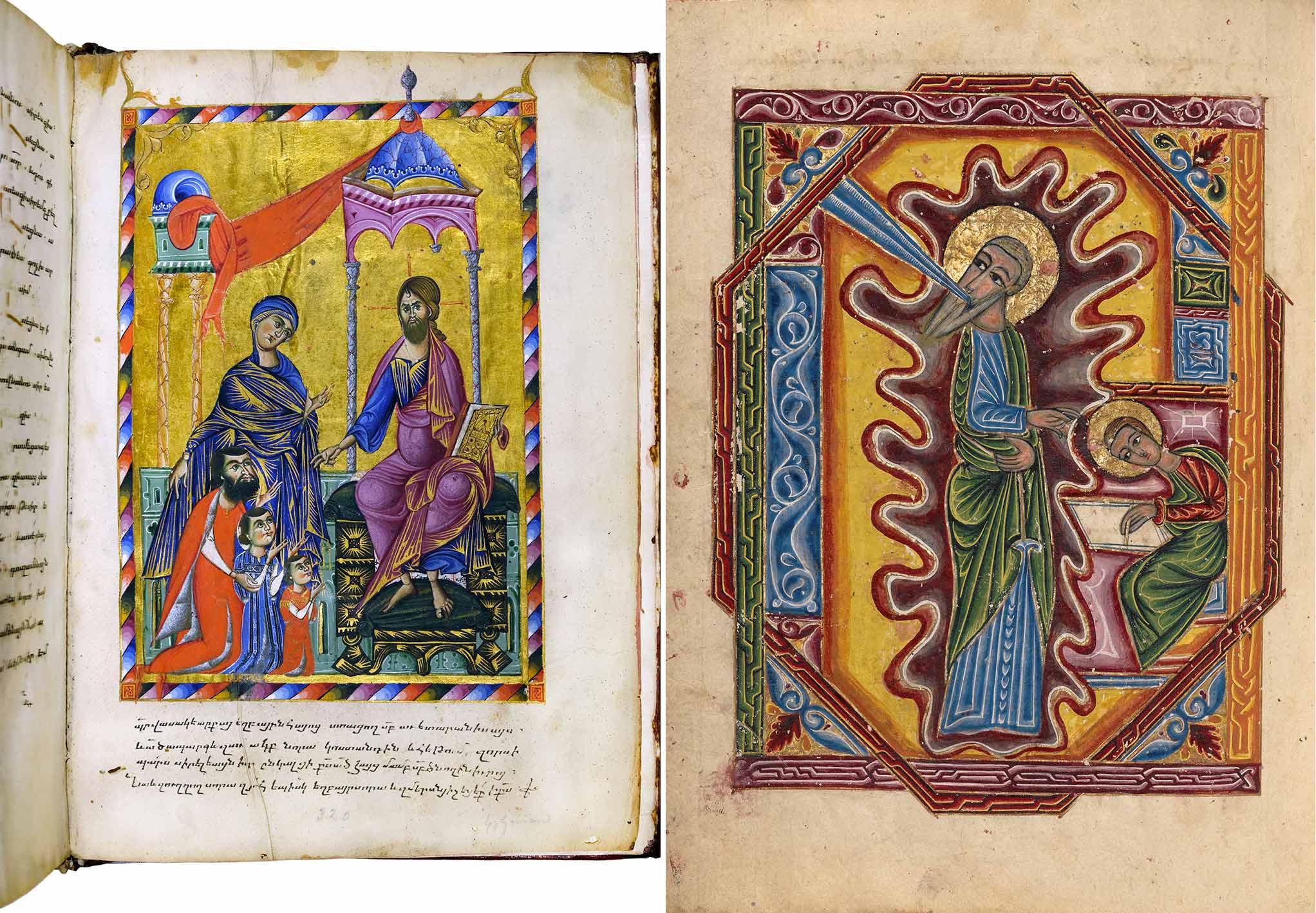 Two gospel books