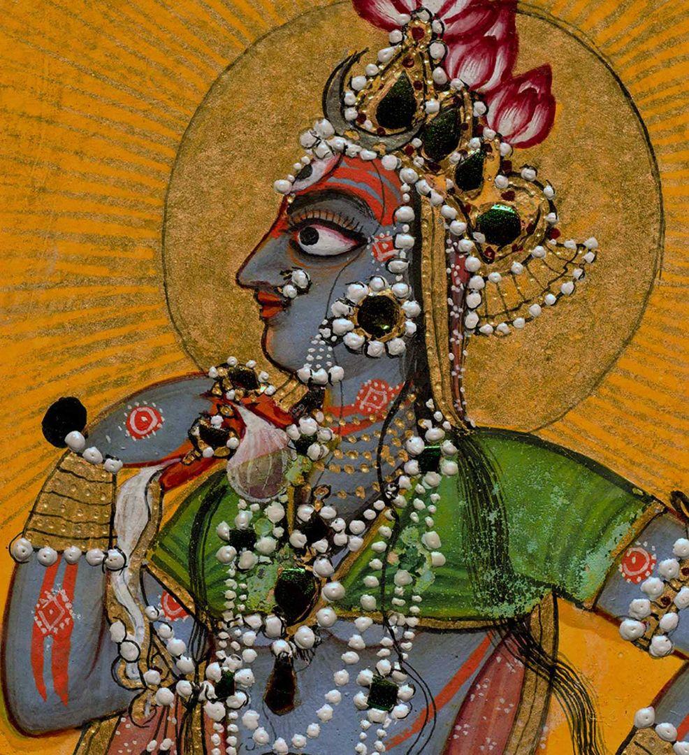 The Goddess Bhadrakali and Early Pahari Painting | The Metropolitan