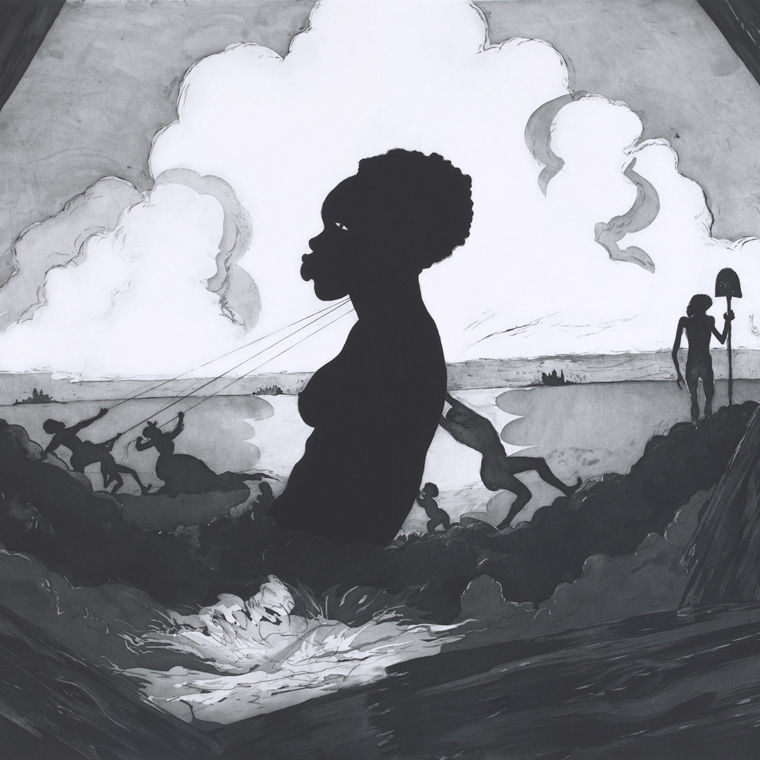 Traditional Form and a Contemporary Lens: Kara Walker's Resurrection Story with Patrons