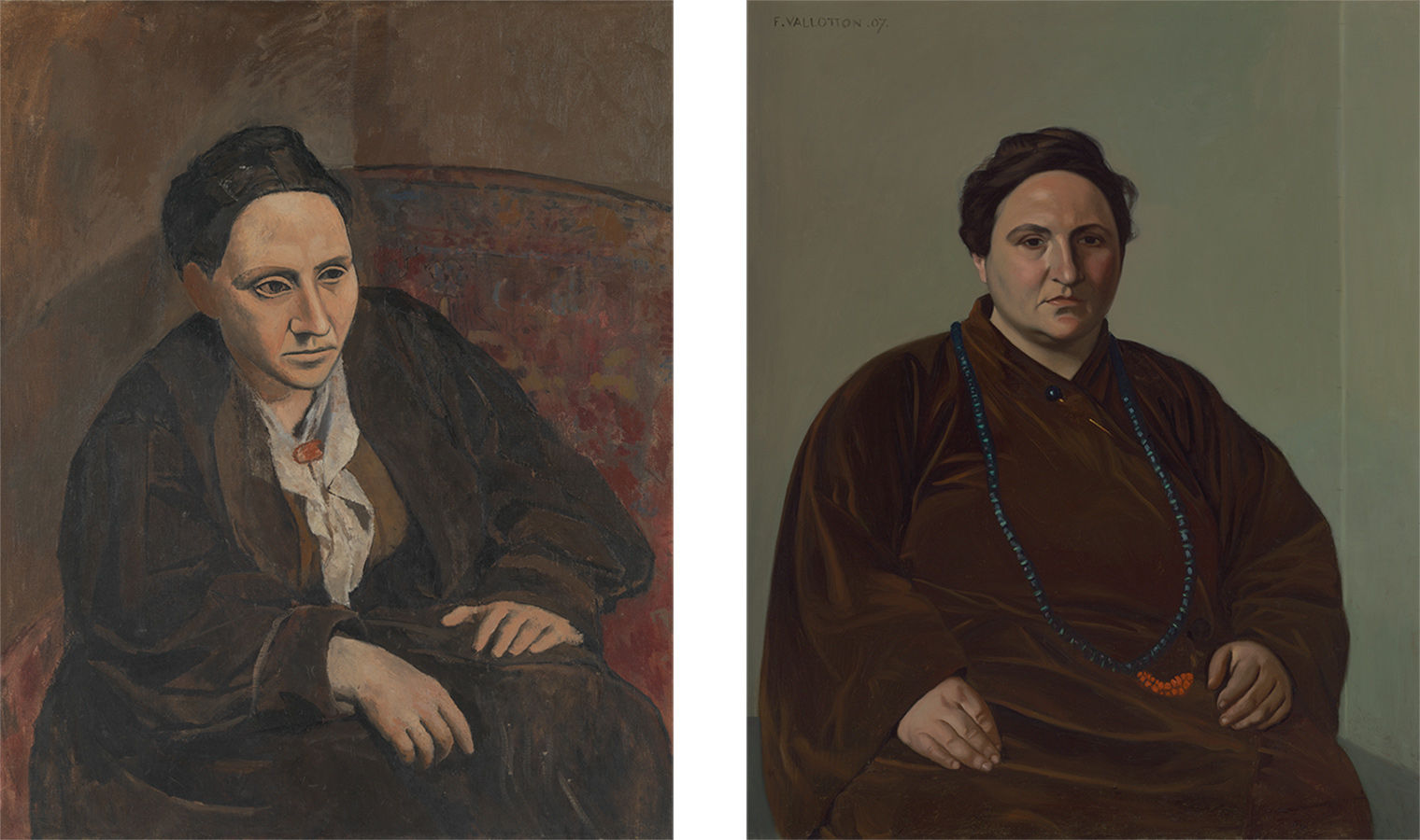 Sitting for Picasso and Vallotton: The Portraits of Gertrude Stein