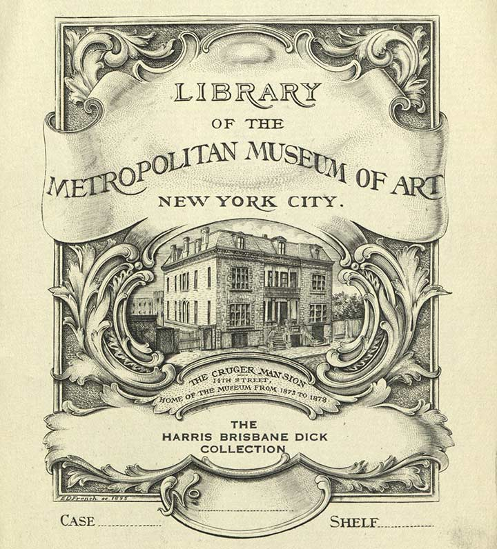 one met many bookplates exceptional ex libris examples the metropolitan museum of art
