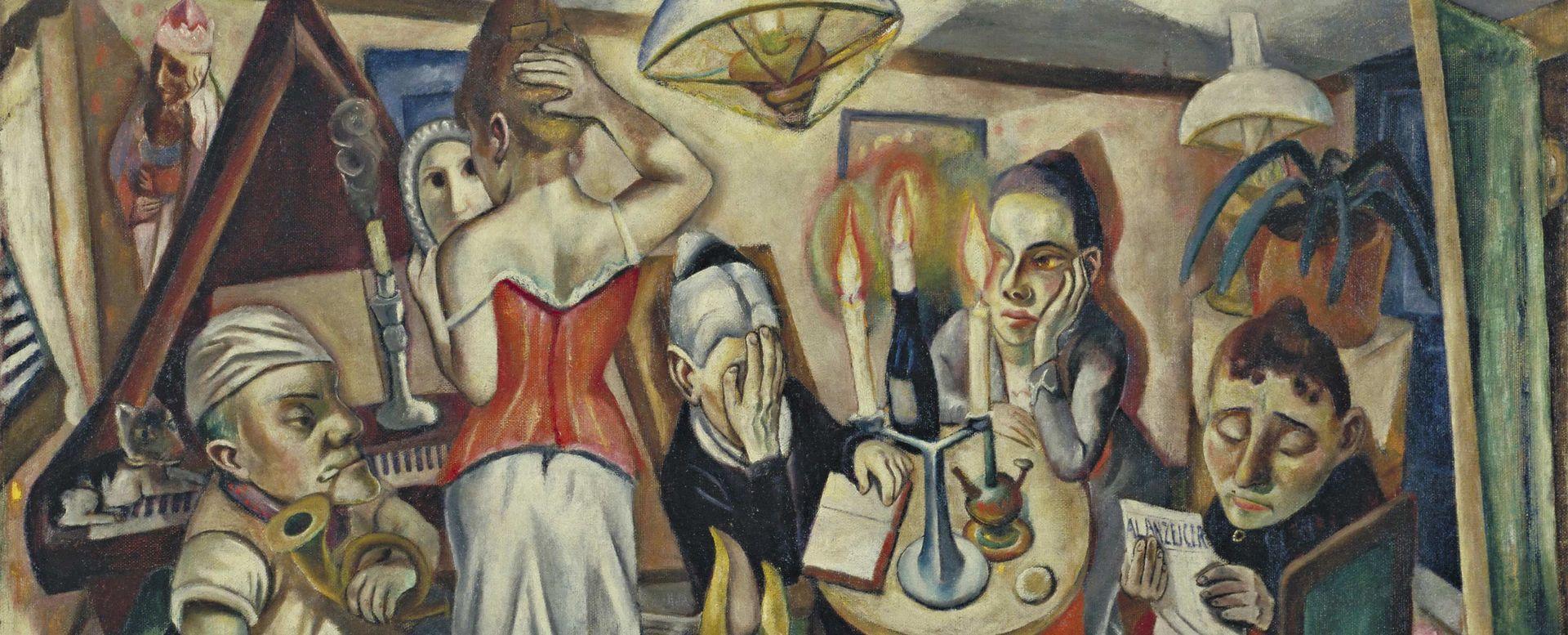 """It suits me just fine"": Max Beckmann in Manhattan | The Metropolitan  Museum of Art"