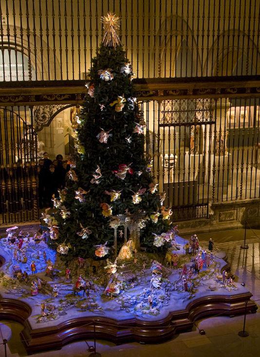 christmas tree and neapolitan baroque cr che the metropolitan museum of art. Black Bedroom Furniture Sets. Home Design Ideas