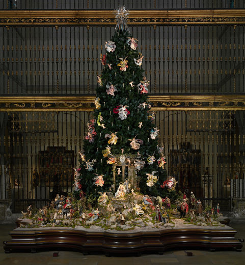 christmas tree and neapolitan baroque crche the metropolitan museum of art - Best Decorated Christmas Trees 2014