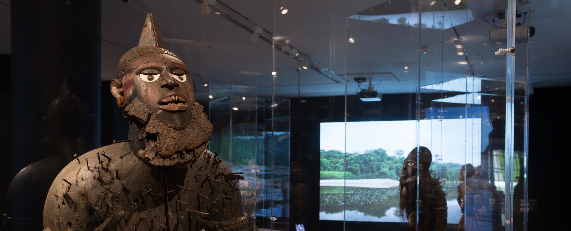 "Gallery view of the exhibition ""Kongo: Power and Majesty"""