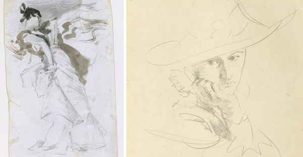 Madame X Sketches