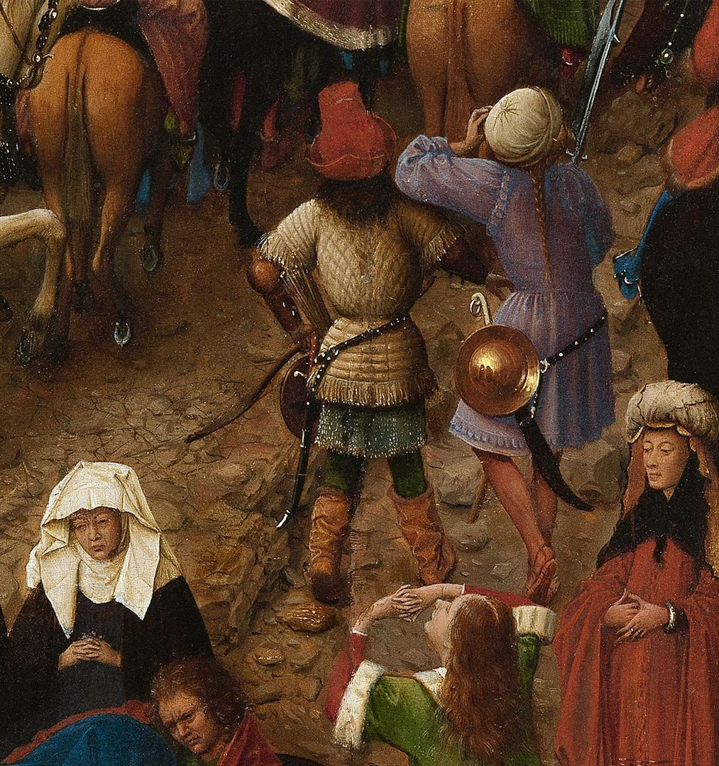a new look at a van eyck masterpiece