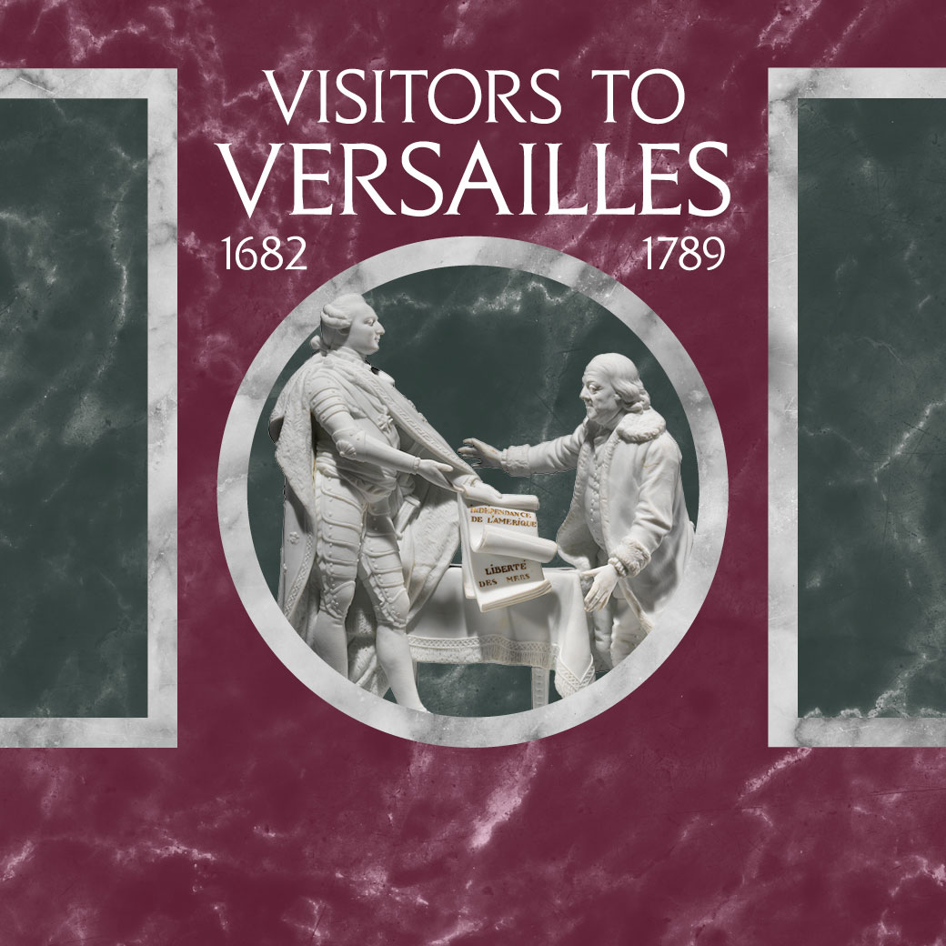 Visitors to versailles 1682 1789