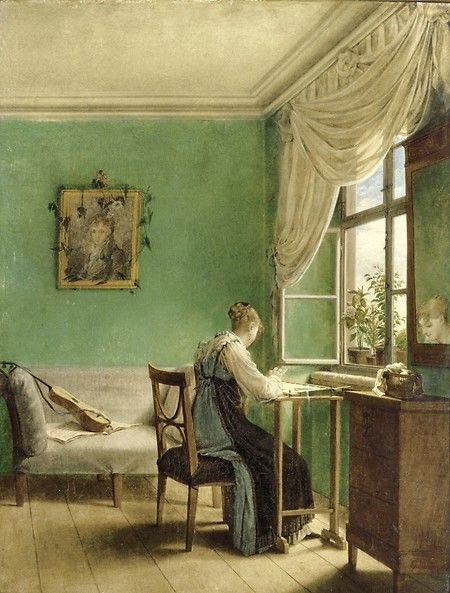 19th Century Drawing Room: Rooms With A View: The Open Window In The 19th Century