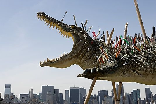 Cai Guo-Qiang on the Roof | Th...