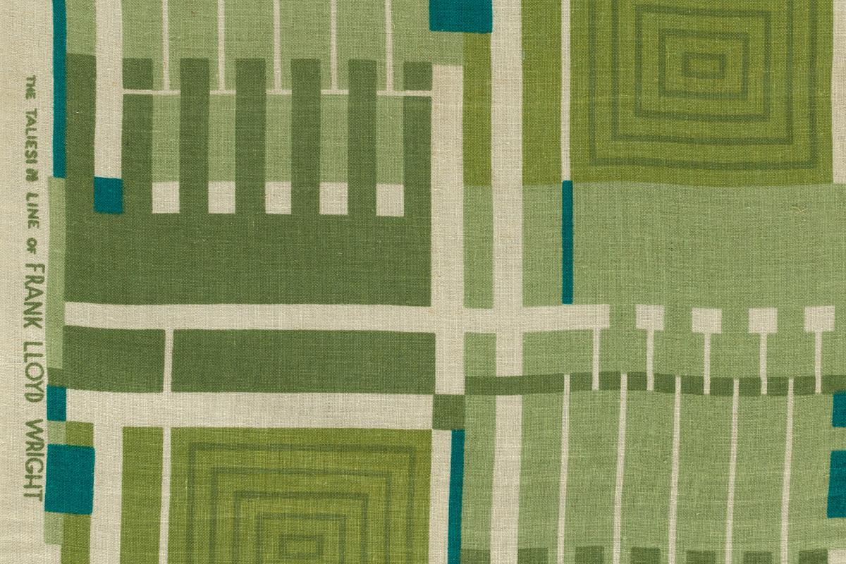 Frank Lloyd Wright Textiles: The Taliesin Line, 1955–60 | The Metropolitan Museum of Art