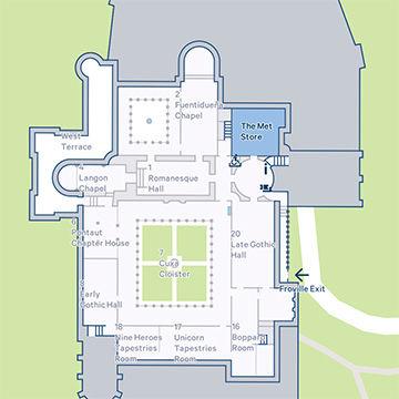 Port Authority To Met Art Museumsubway Map.The Met Cloisters The Metropolitan Museum Of Art