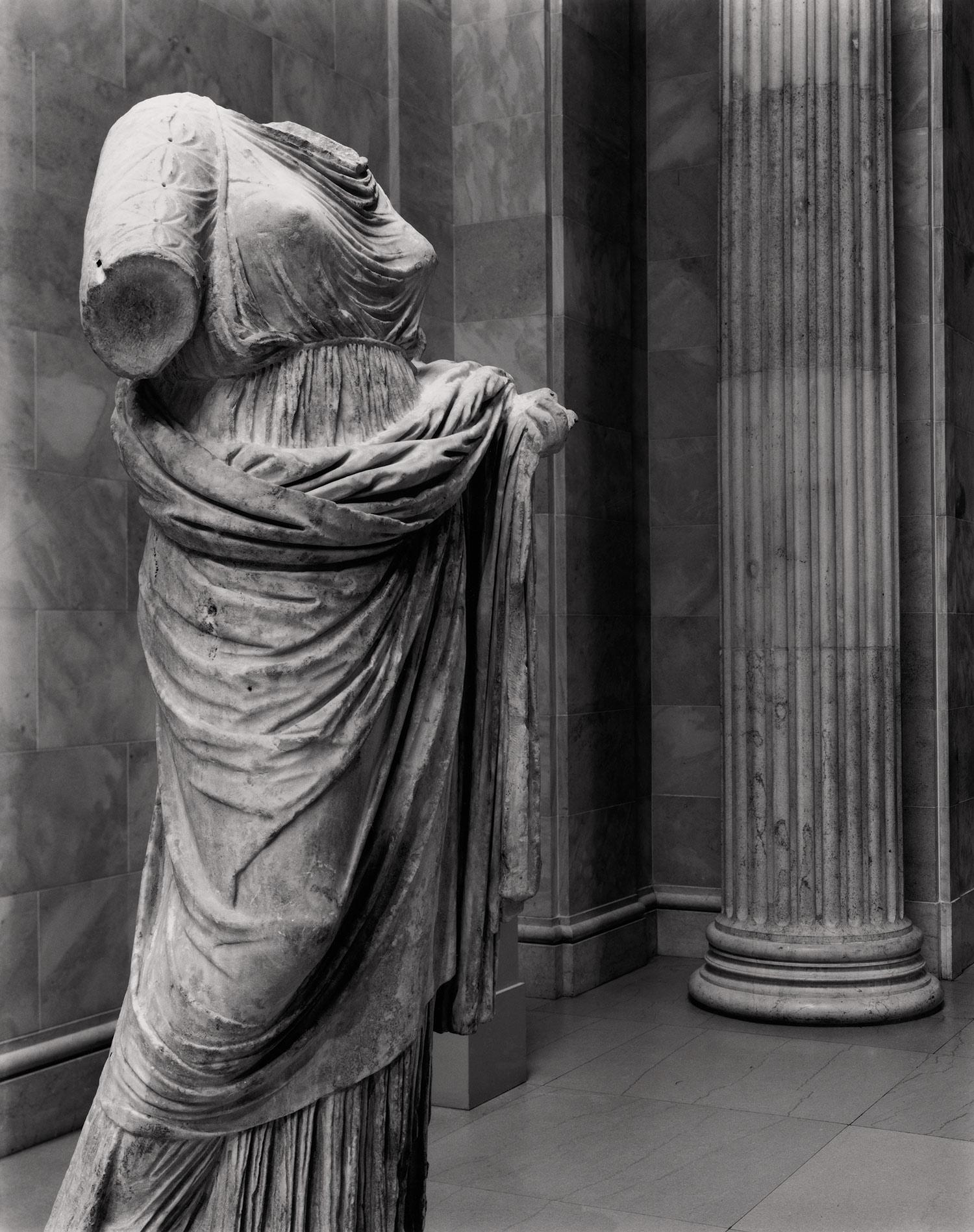 Greek Female Sculpture Statue of a woman