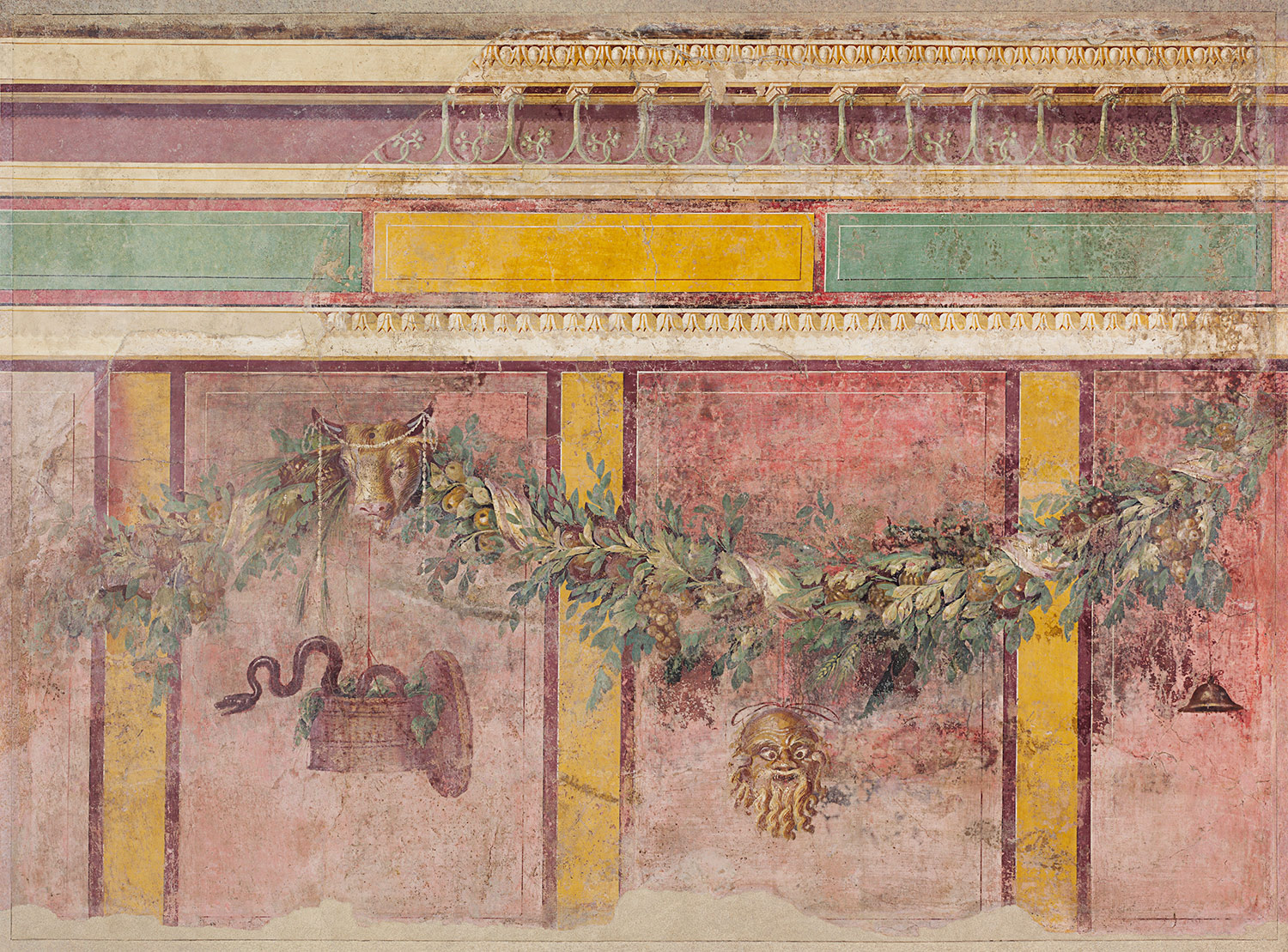 Villa boscoreale for Ancient mural villa