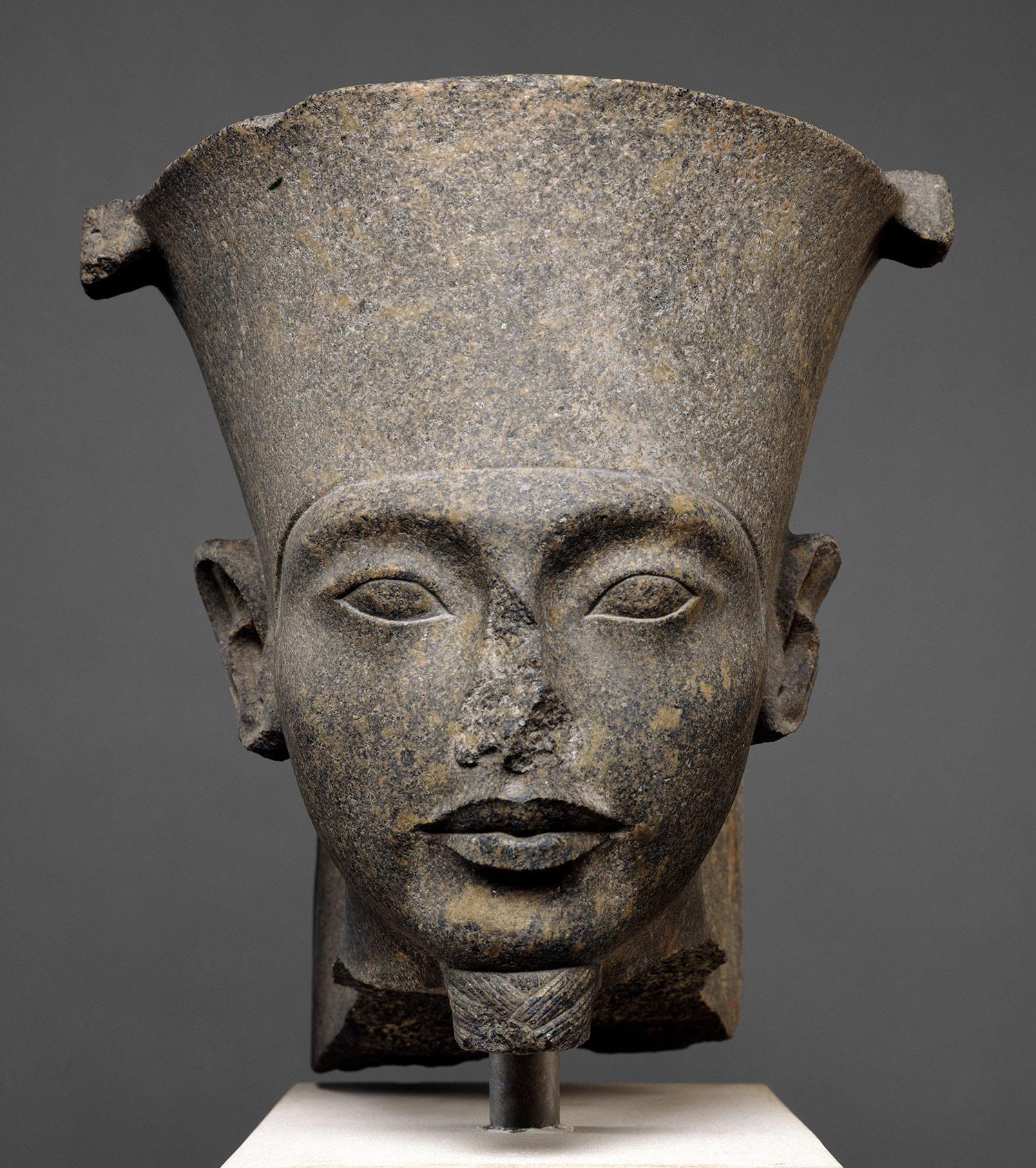 Head of the god Amun [Egypt] (07.228.34) | Heilbrunn ...