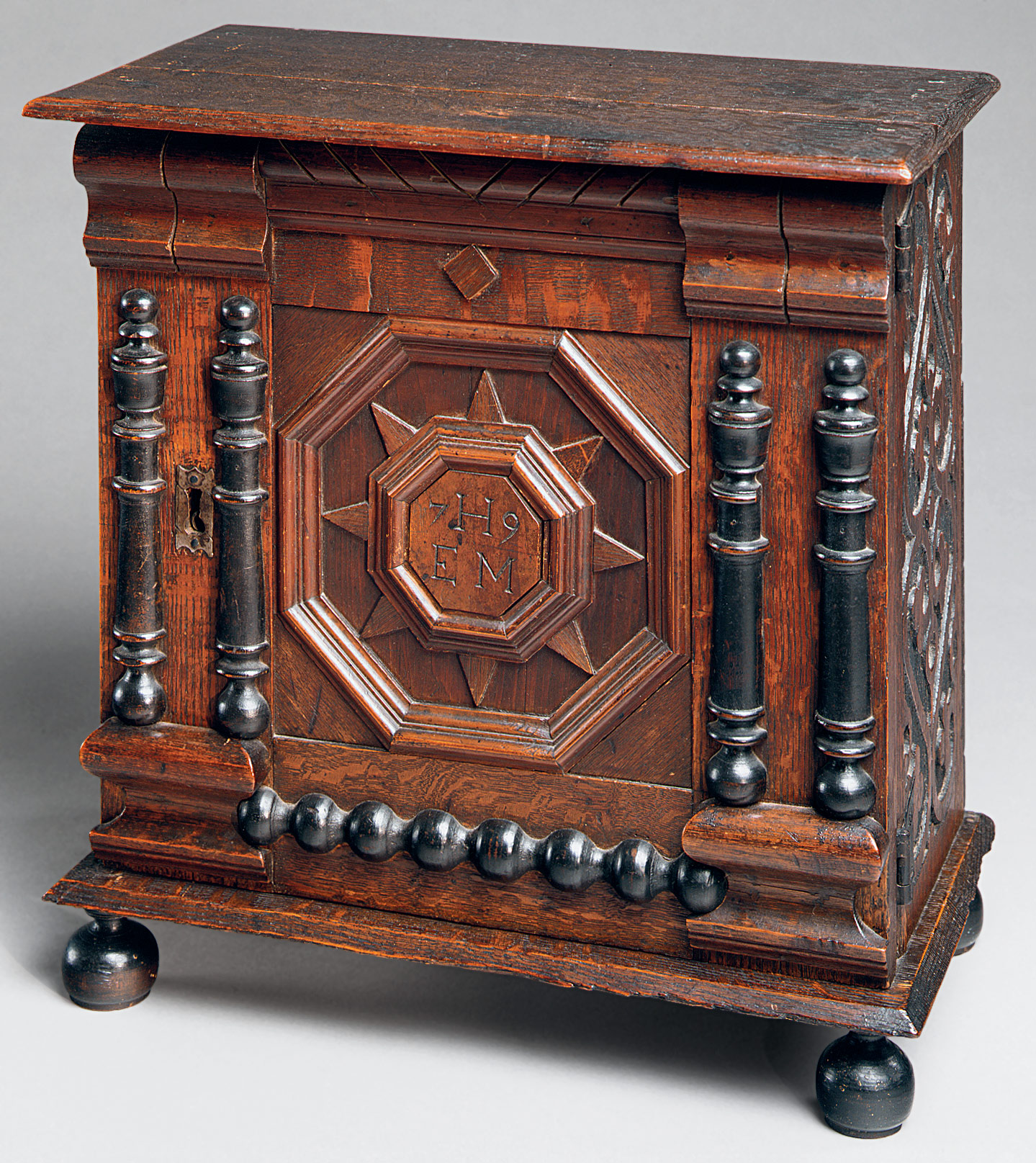 Attributed To The Symonds Shop Tradition Small Cabinet