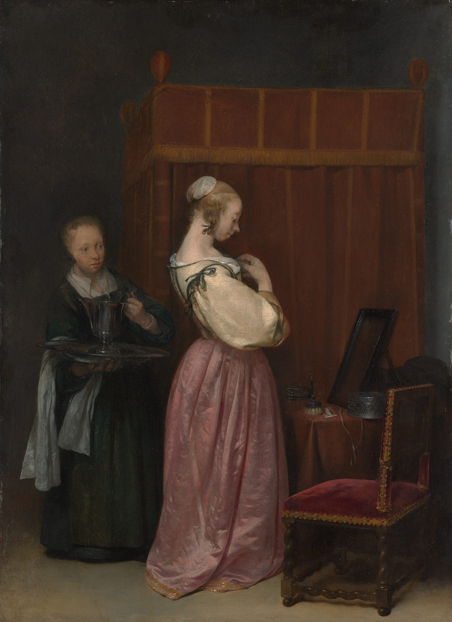 Gerard Ter Borch Oil Paintings