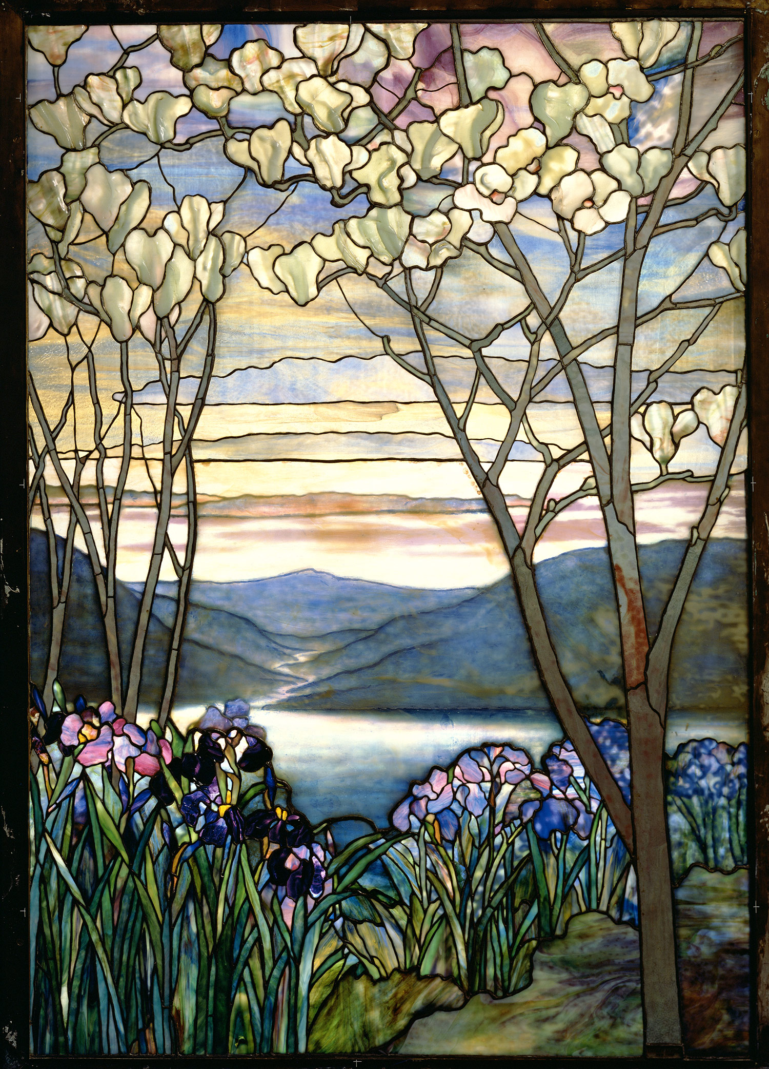 Tiffany Stained Glass : Louis comfort tiffany thematic essay