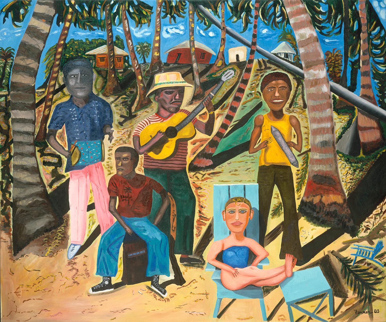 The Troubled Tropics: The Art of Rafael Ferrer