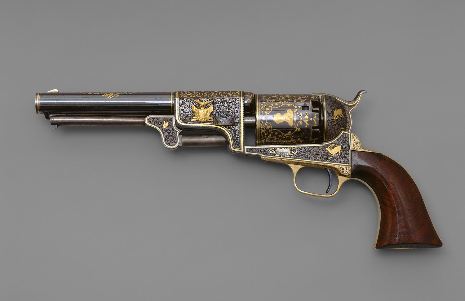 Colt and Gustave Young: Colt Third Model Dragoon Percussion Revolver ...