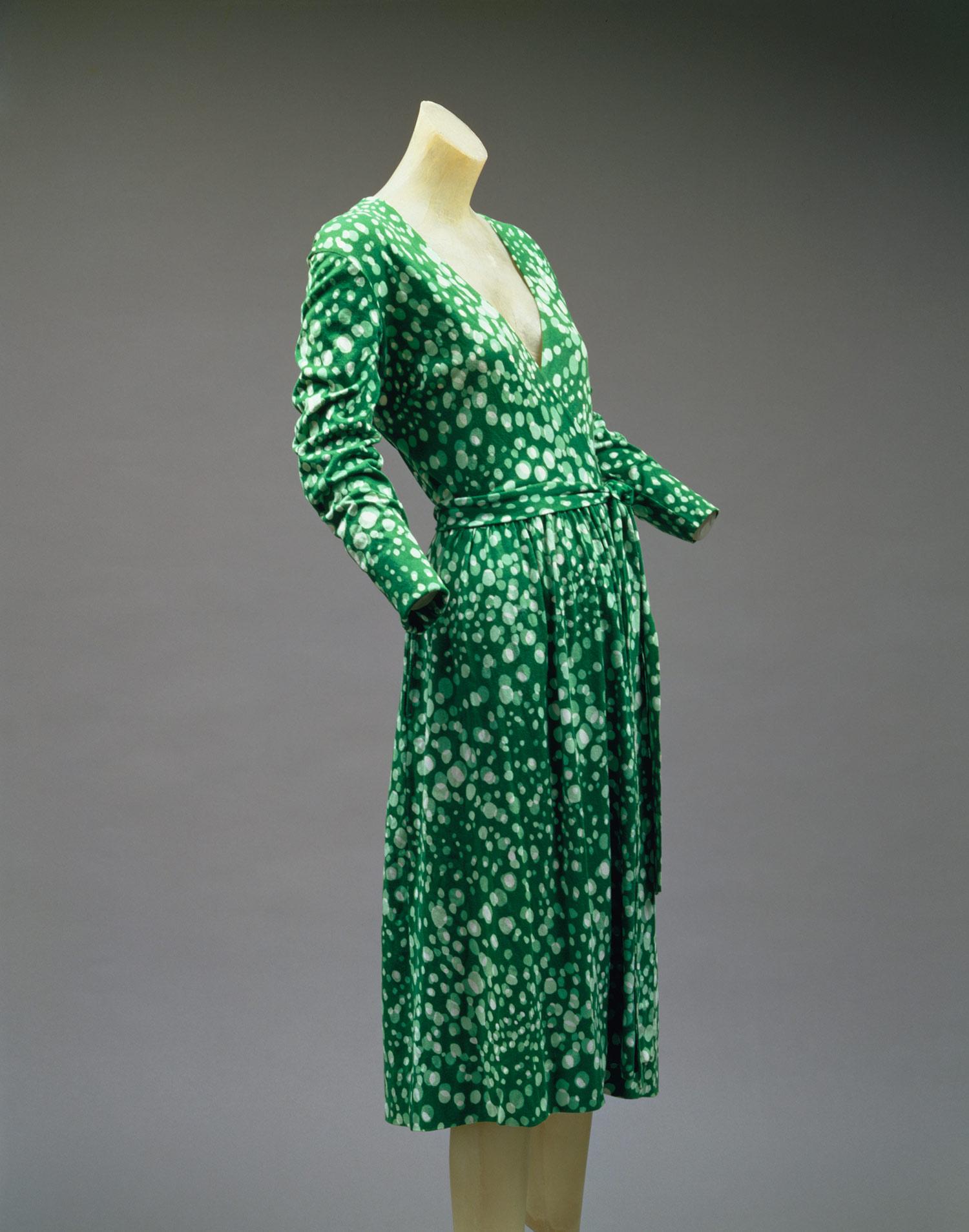 Diane Von Furstenberg Wrap Dress 1997 487 Heilbrunn