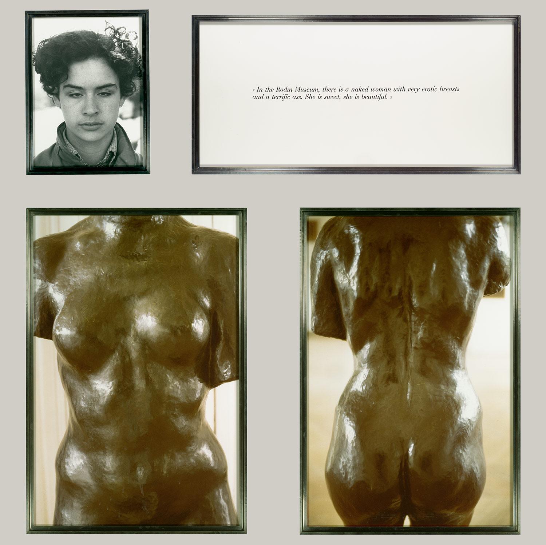 From Sophie Calles work Blind at the Metropolitan Museum of Art