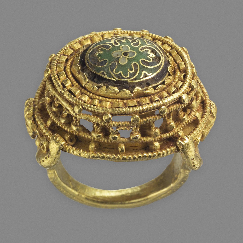 Ottonian Ring. 10th-11th Century.