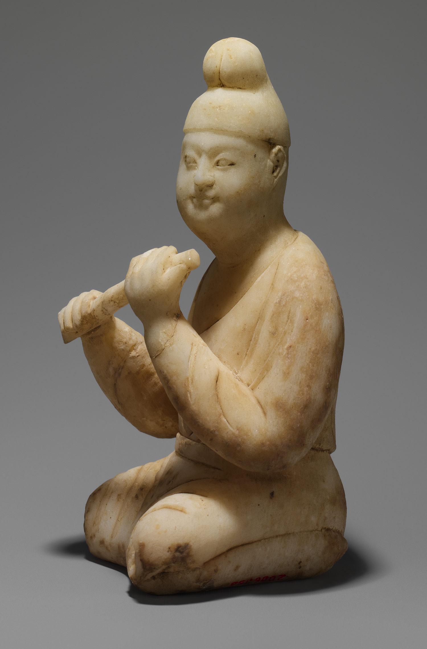 Asian statue woman - 3 part 2