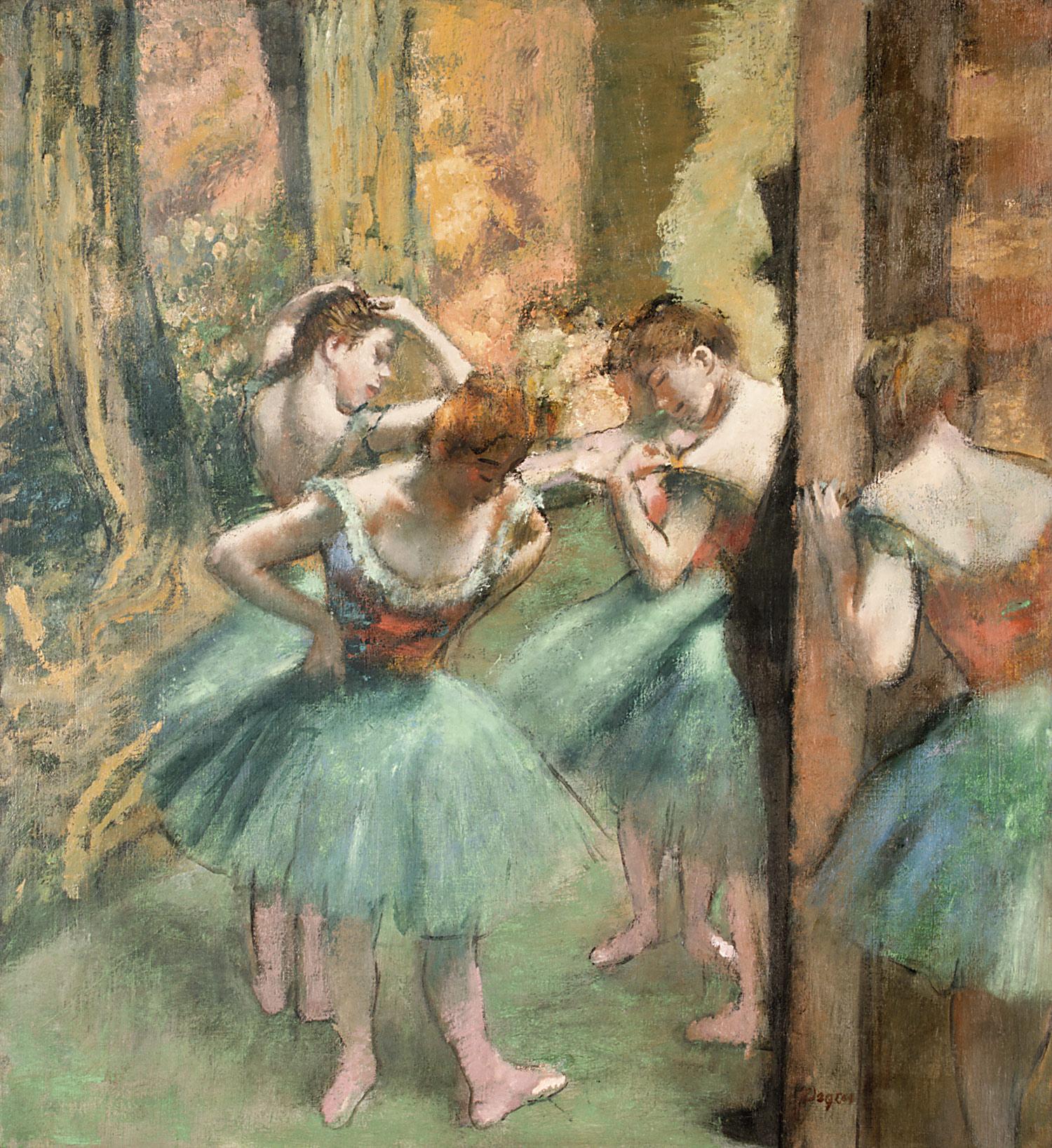 Dance Class Edgar Degas