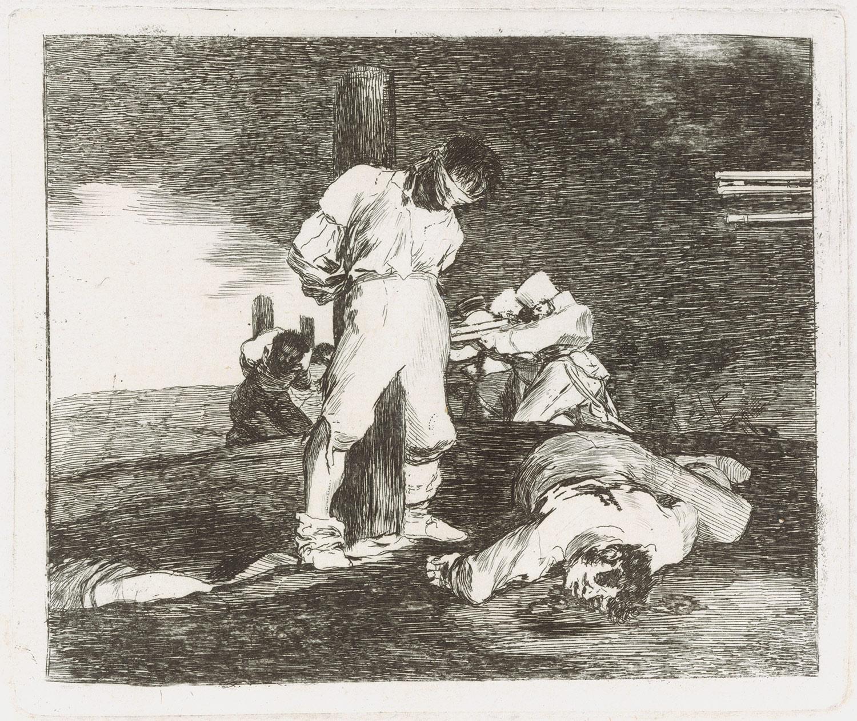 Etchings Of Goya