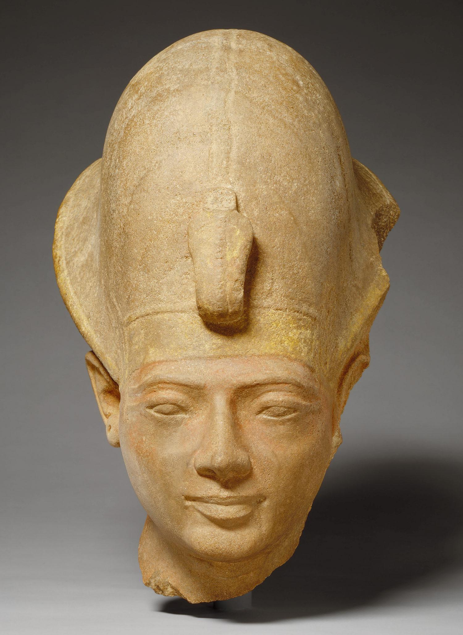 Head of Amenmesse [Egyptian] (34.2.2) | Heilbrunn Timeline ...