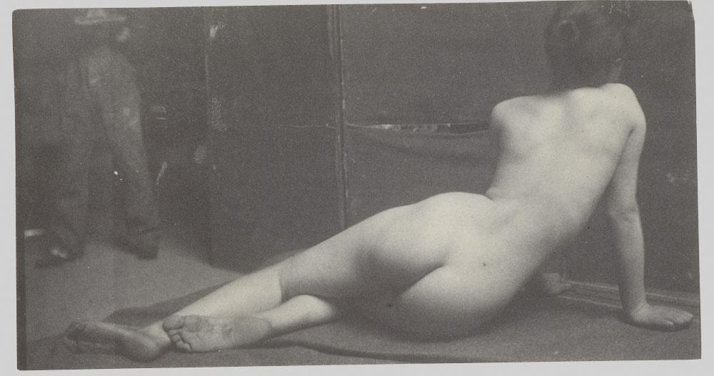[Female Nude], ca. 1883. Thomas Eakins (American, 1844?1916) Platinum print