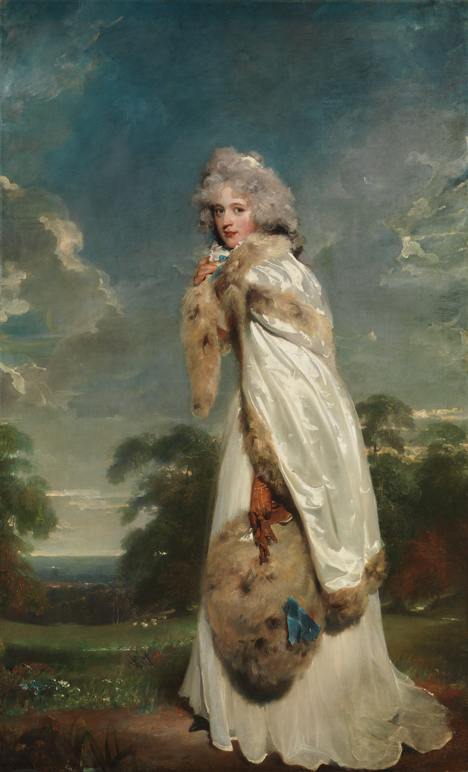 Elizabeth Farren by Thomas Lawrence