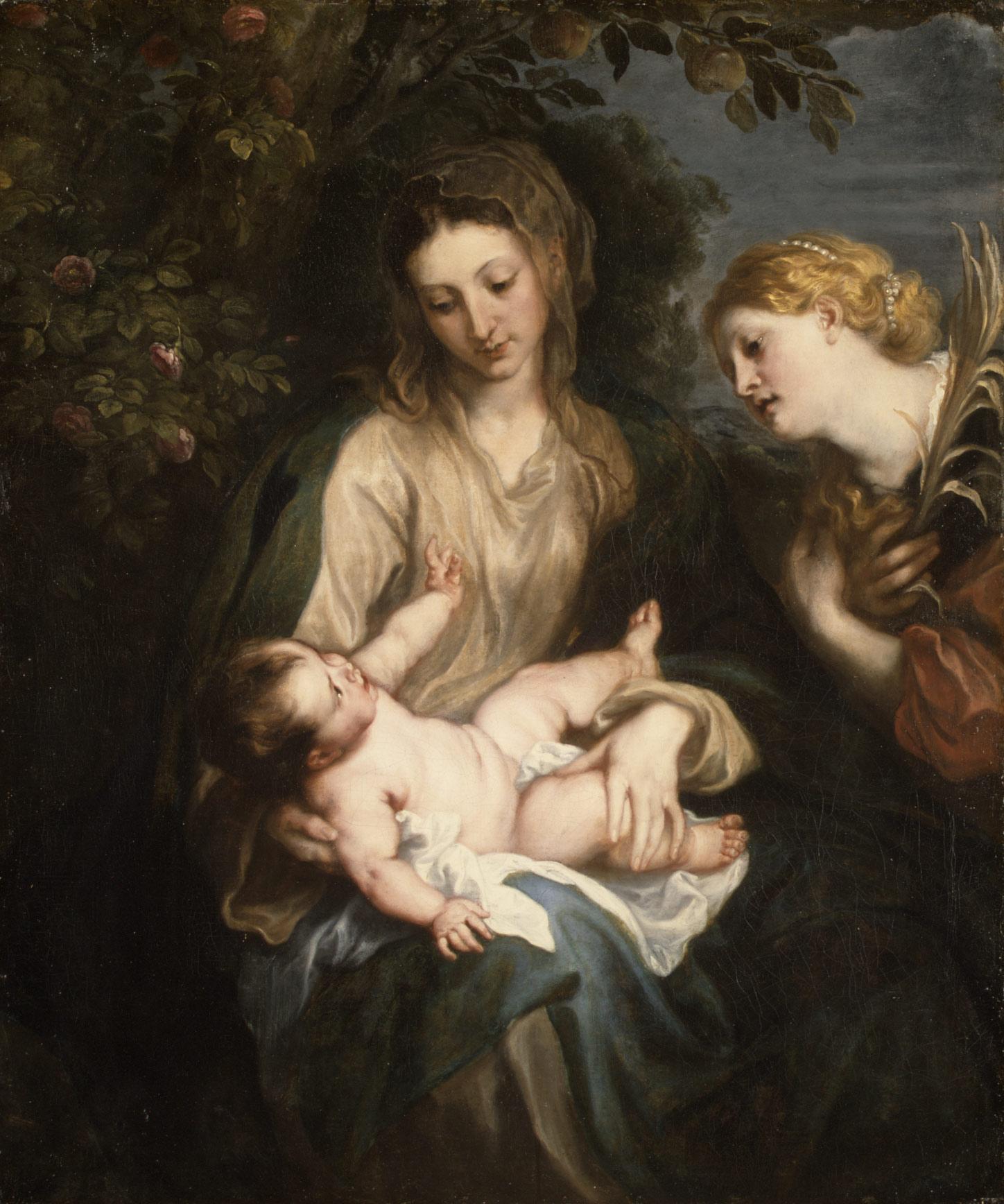 A Virgem, o Menino e Santa Catarina de Alexandria