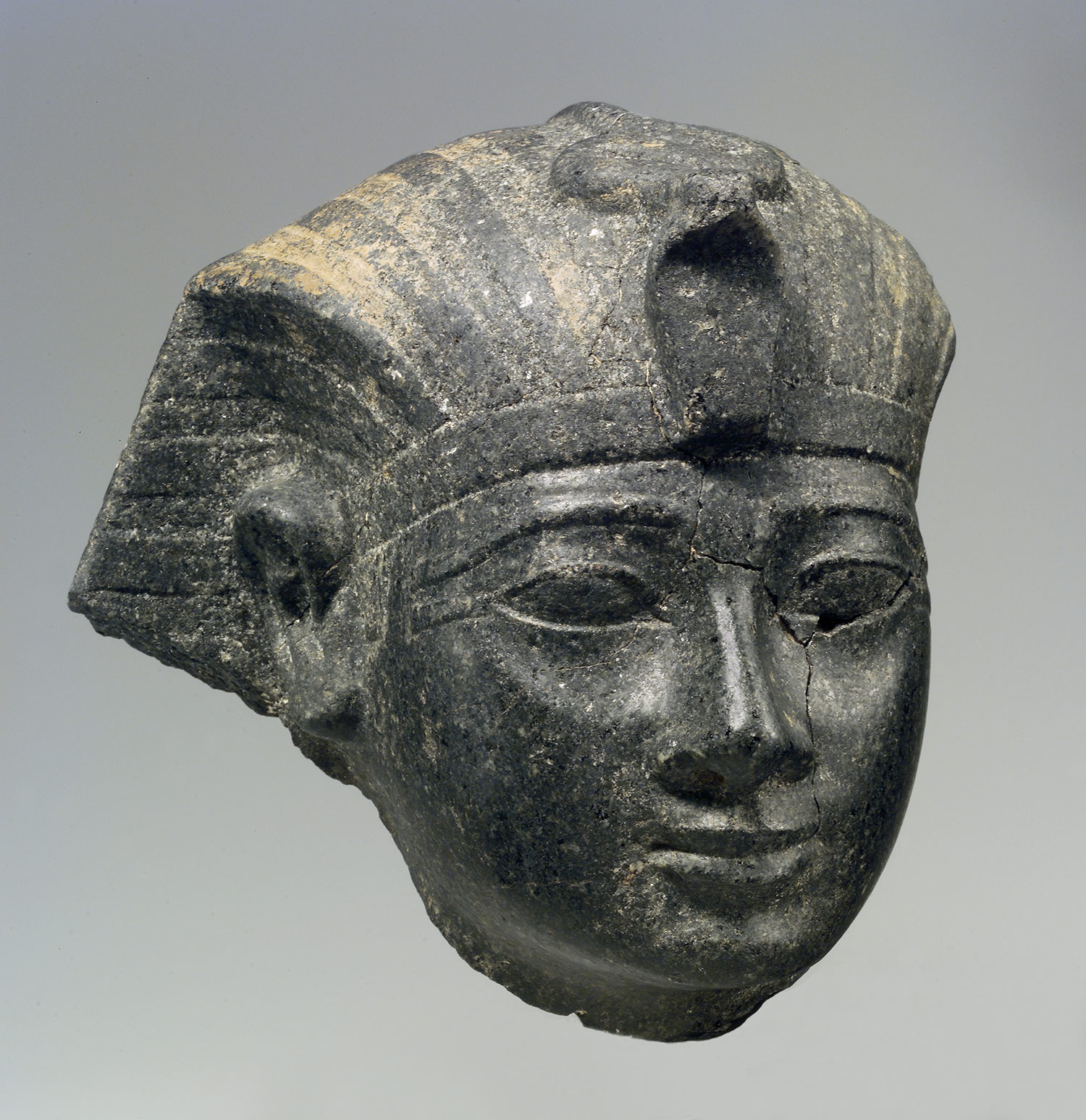 Head of Amenhotep II [Egyptian] (66.99.20) |