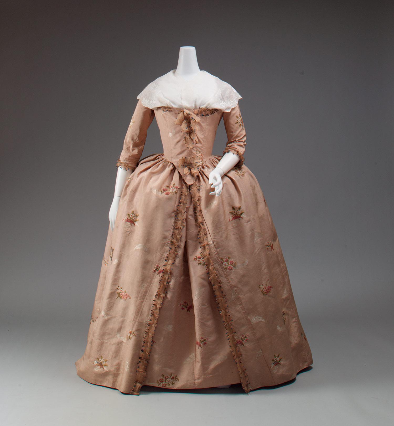 Assez La robe à l'anglaise ( XVIIIè siècle) - Un Certain regard. FX59