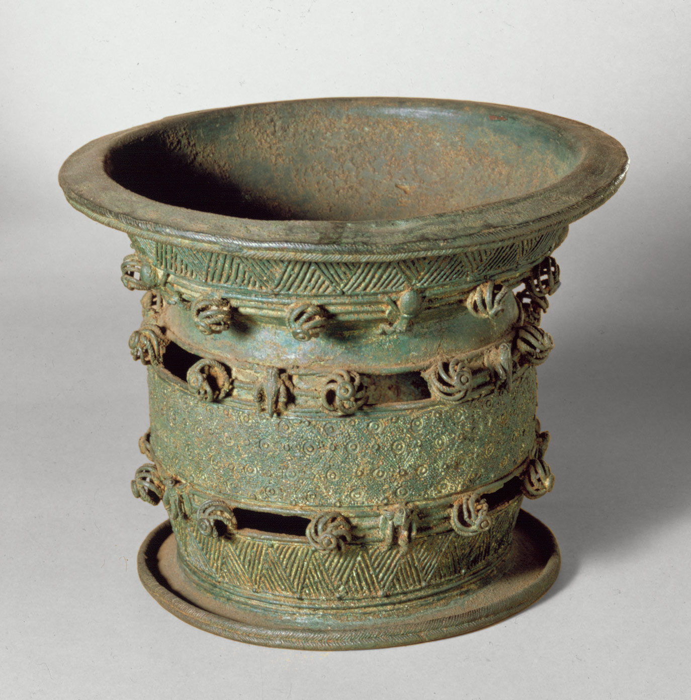 Bowl on a Stand: 9th-10th century