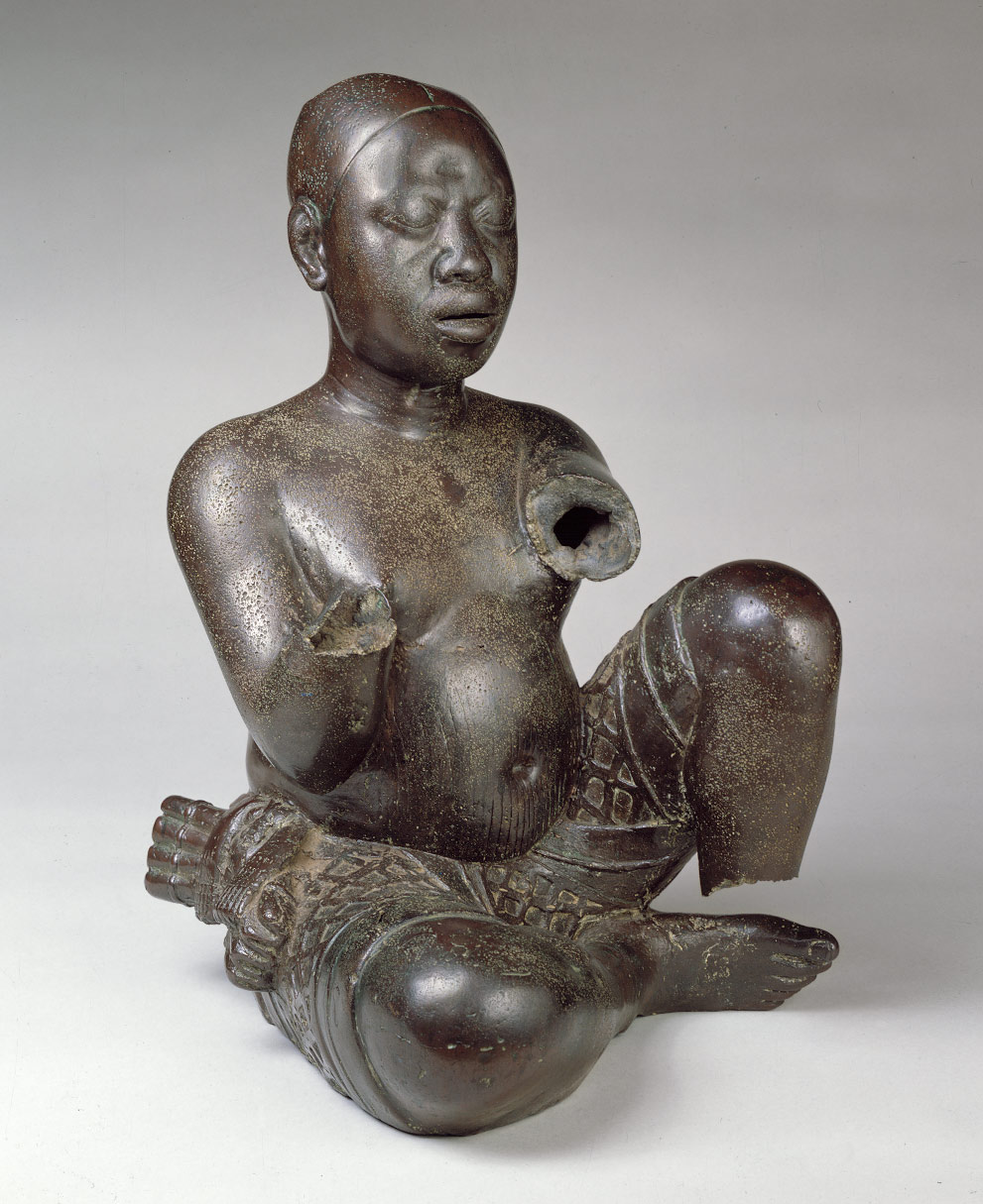Tada Seated Figure: 13-14th century