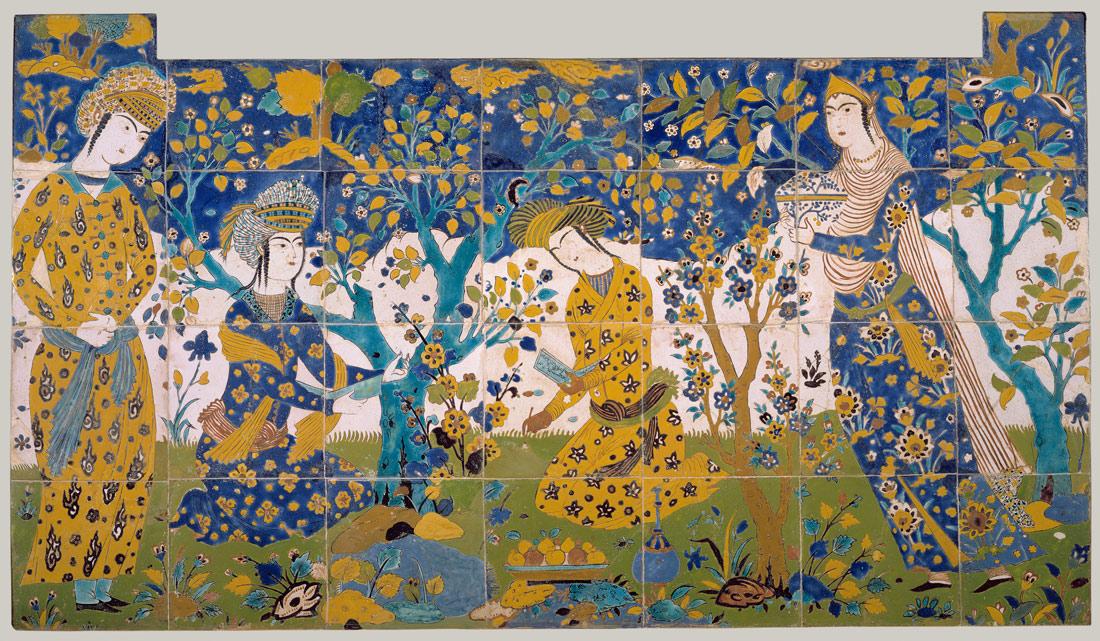 Reciting Poetry In A Garden Work Of Art The Metropolitan Museum