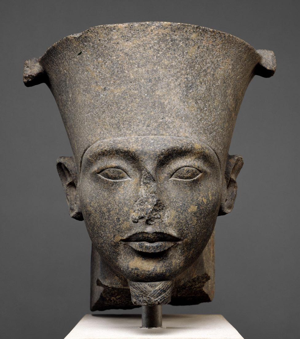 Head of the god Amun