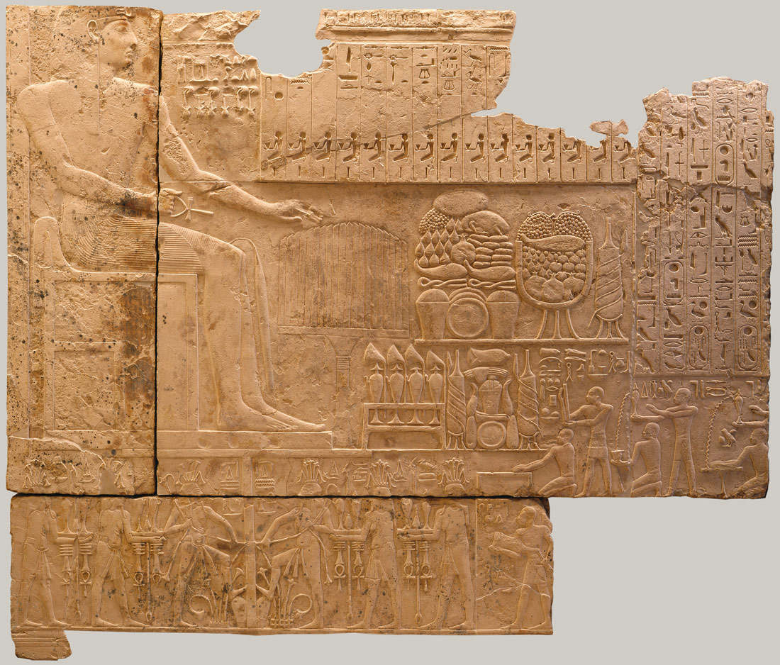 Relief on the North Wall of a Chapel of Ramesses I | Work of Art | Heilbrunn Timeline of Art History | The Metropolitan Museum of Art