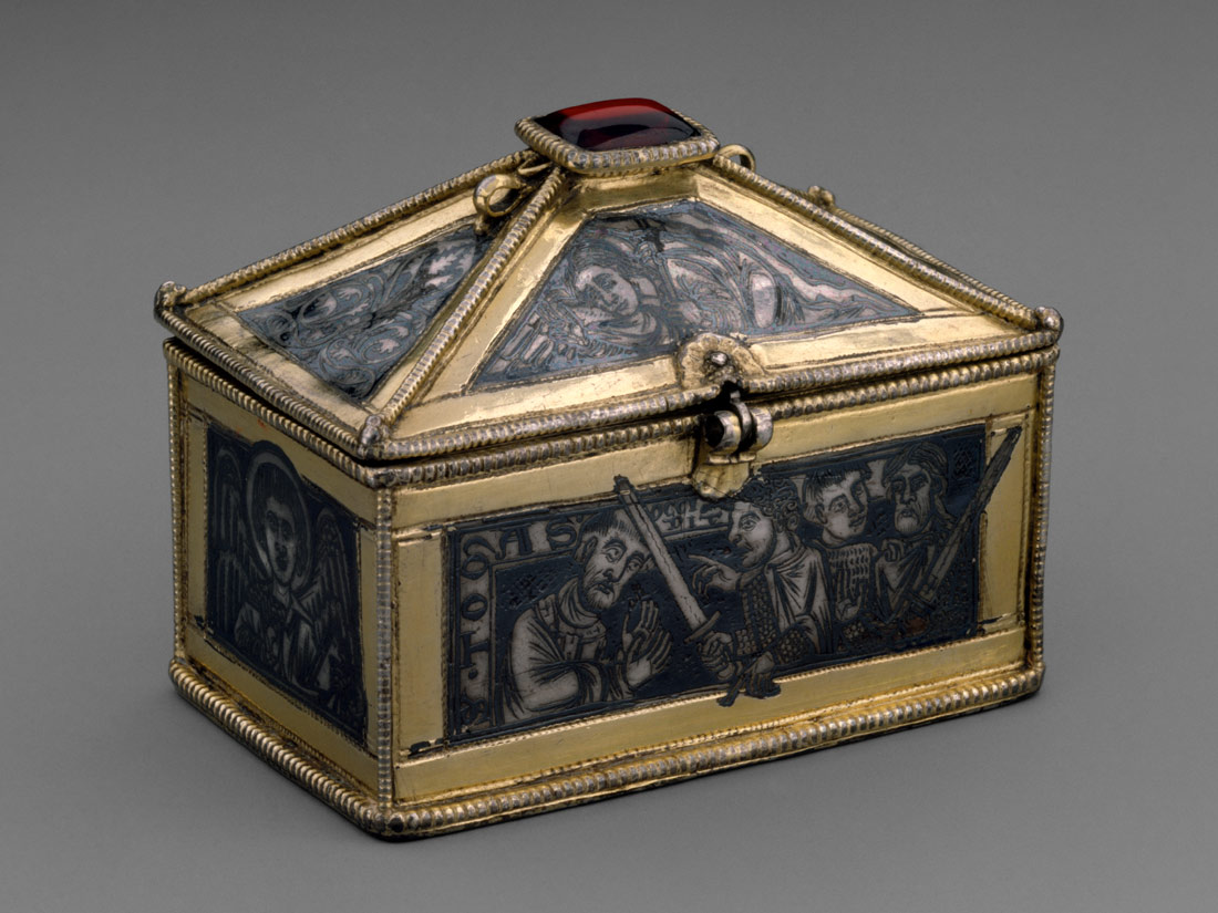 reliquary casket scenes from the martyrdom of saint thomas reliquary casket scenes from the martyrdom of saint thomas becket work of art heilbrunn timeline of art history the metropolitan museum of art