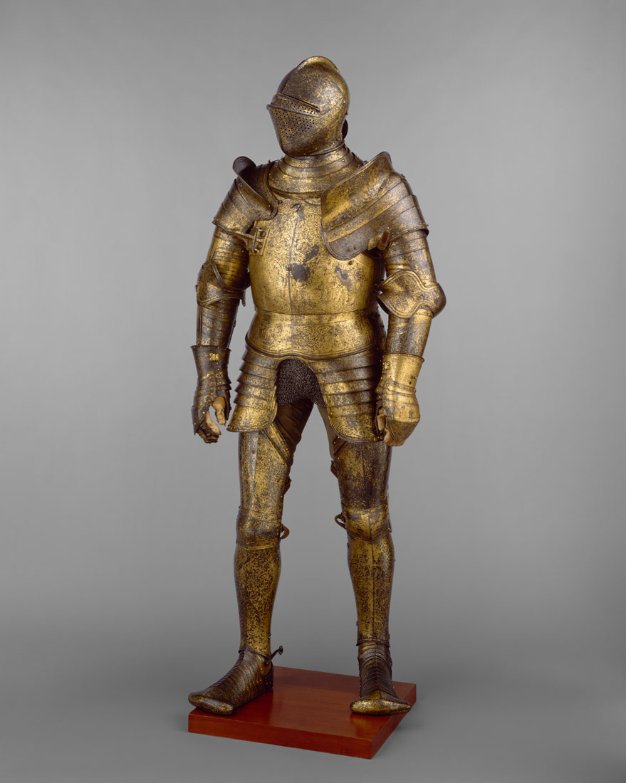armor garniture probably of king henry viii of england reigned armor garniture probably of king henry viii of england reigned 1509 47 attributed to hans holbein the younger royal workshops at greenwich 19 131 1