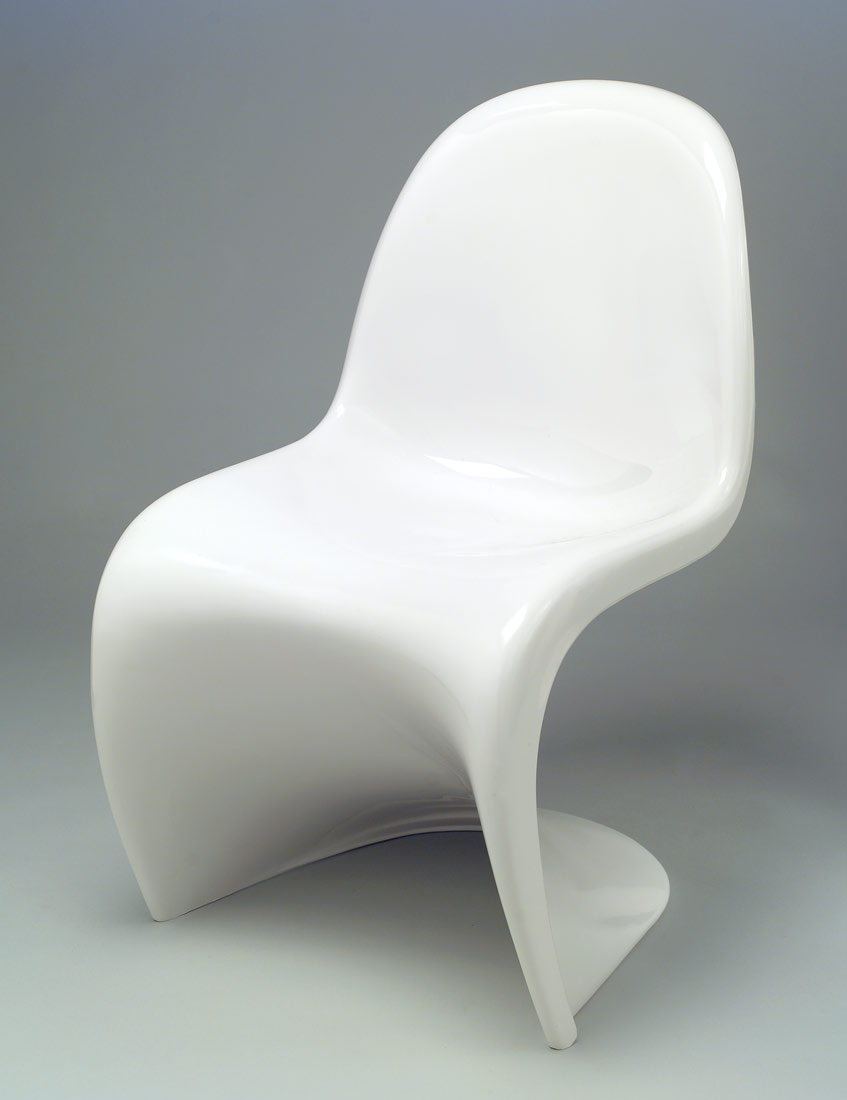 stacking side chair verner panton 1986 425 work of art