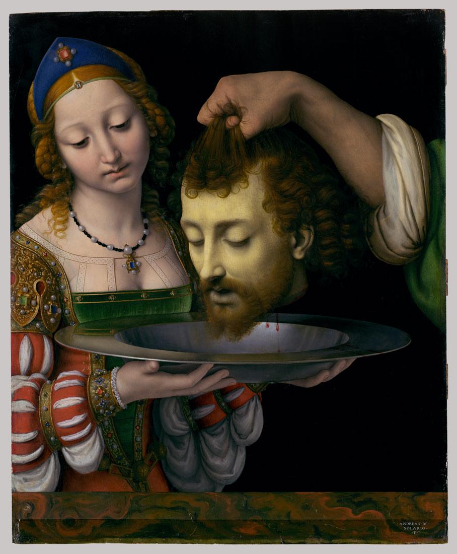 Salome with the Head of Saint John the Baptist   Andrea Solario   32.100.81   Work of Art   Heilbrunn Timeline of Art History   The Metropolitan Museum of Art