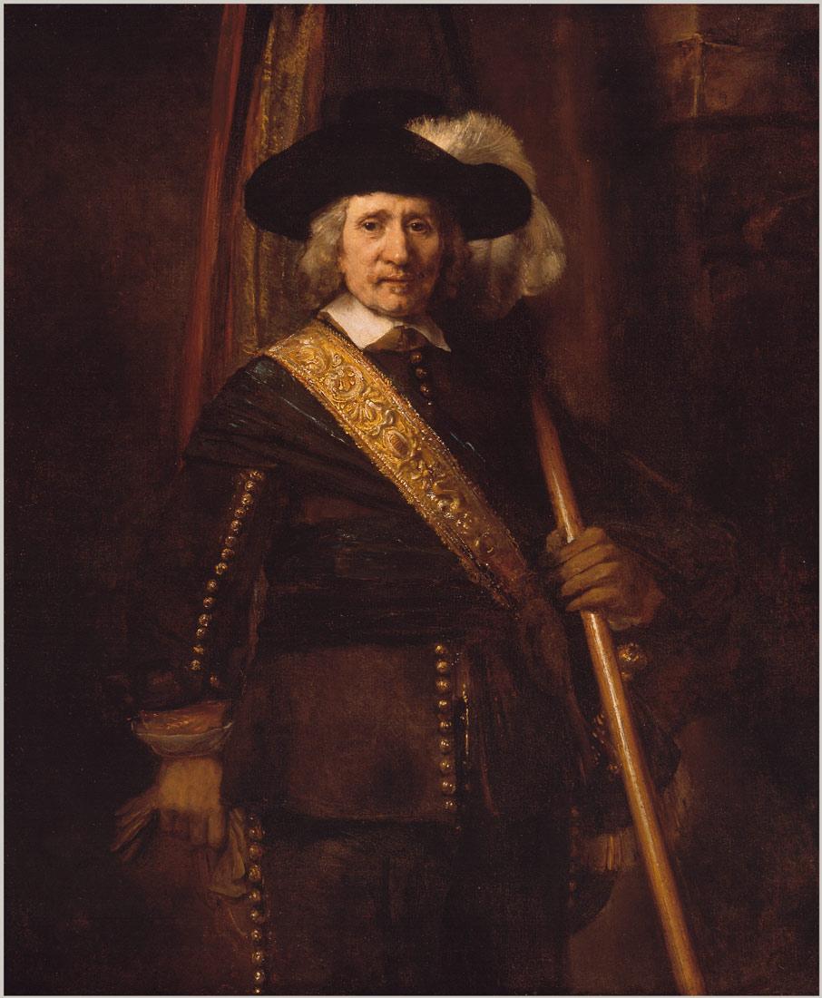 The Standard Bearer (Floris Soop, 1604–1657) | Rembrandt van Rijn | 49.7.35 | Work of Art | Heilbrunn Timeline of Art History | The Metropolitan Museum of Art