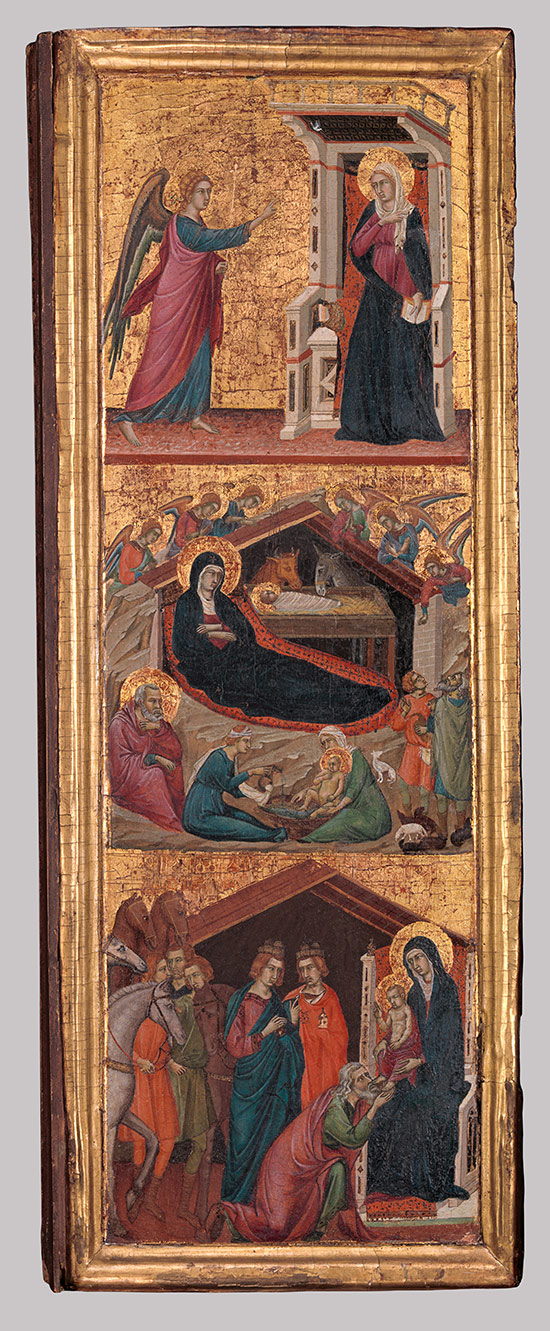 Saints And Scenes From The Life Of Virgin
